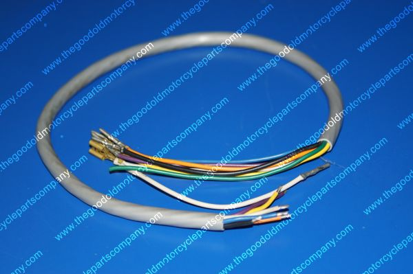 Harley Davidson 70170-79, Left Handlebar Wiring Harness OEM NOS on harley wiring diagram for dummies, mitsubishi wiring harness, harley davidson wiring color code, harley softail wiring harness, harley davidson speaker wiring, harley chopper wiring harness, harley wiring harness kits, columbia wiring harness, piaggio wiring harness, motorcycle wiring harness, harley davidson stator wiring, harley shovelhead wiring harness, harley davidson trailer wiring diagram, harley wiring harness diagram, royal enfield wiring harness, mercury wiring harness, cobra wiring harness, harley davidson stereo wiring diagram, harley sportster wiring harness, harley davidson wiring connectors,