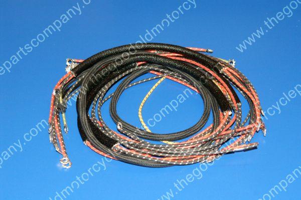harley davidson 4735 30 harley davidson 4735 30, 1930 36 vl, rl wiring harness Harley Wiring Harness Diagram at love-stories.co