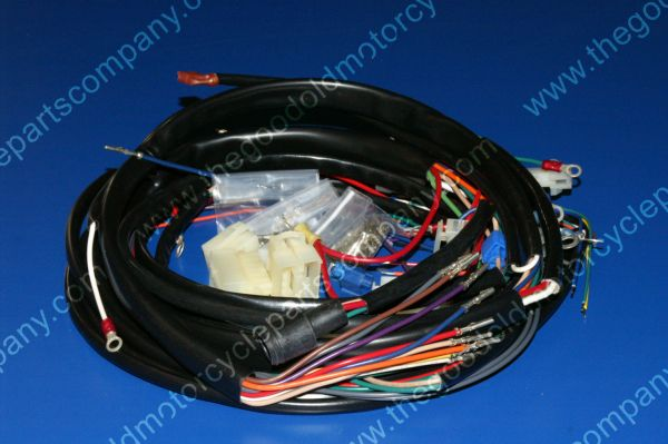 Complete Motorcycle Wiring Harness : Harley davidson xlch complete wiring harness
