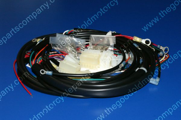 Complete Motorcycle Wiring Harness : Harley davidson  xlh complete wiring harness