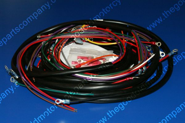 harley davidson 70151 70 harley davidson 70151 70 1970 72 xlh complete wiring harness 73 xlh wiring harness at bayanpartner.co