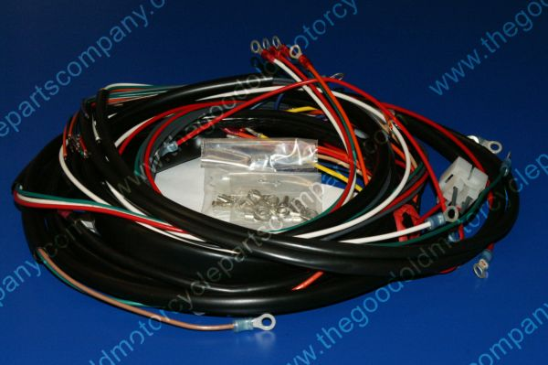 Harley Davidson 70151-73, 1973-74 XLH Complete Wiring Harness on