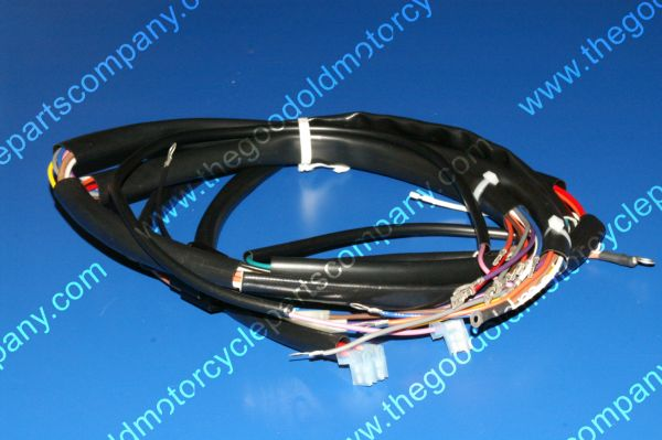 Harley Davidson 70214-80A, 1980-85 FXWG Main Wiring Harness on harley wiring tools, harley bluetooth interface, harley dash wiring, harley clutch rod, harley crankcase, harley dash kit, harley trunk latch, harley banjo bolt, harley wiring connectors, harley headlight harness, harley headlight adapter, harley stator wiring, harley wiring kit, harley choke lever, harley motorcycle stereo amplifier, harley timing chain, harley wiring color codes, harley clutch diaphragm spring, harley belly pan, harley tow bar,