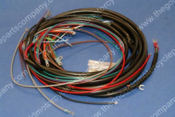 Harley Davidson 70320-70, 1970-72 FLH Wiring Harness, Complete on