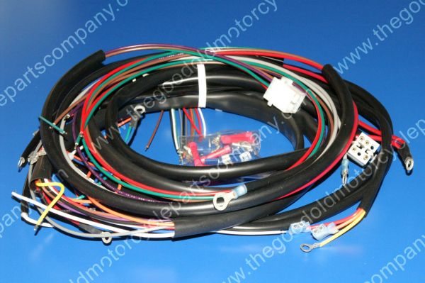 Harley Davidson 70320-80, 1980-84 FLH Complete Wiring Harness on