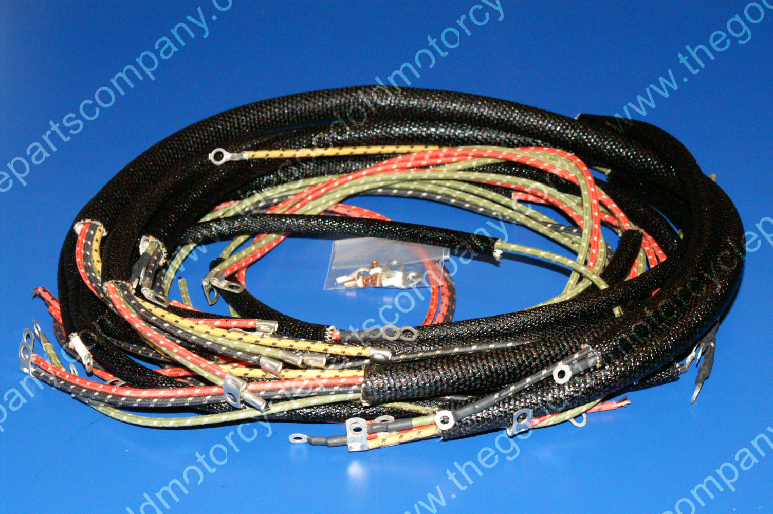 Harley Davidson 70321-58, 1958-64 FL, FLH Wiring Harness on