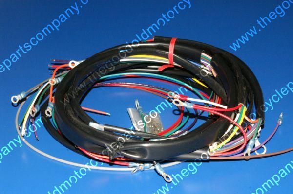 harley davidson 70326 75 complete harley davidson 70326 75 1975 77 fxe complete wiring harness 77 fxe wire harness at webbmarketing.co