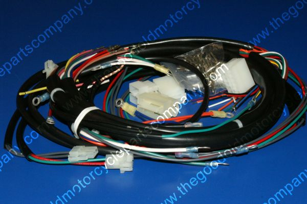 Harley Davidson 70343-78, 1978-79 FXE Complete Wiring Harness on mercury marine wire harness, harley davidson wire colors, bmw wire harness, club car wire harness, harley davidson wire connectors, harley davidson radio harness,