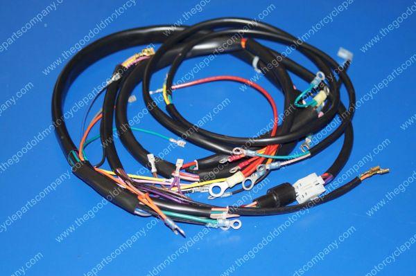 harley wiring harness 2007 77 harley wiring harness harley davidson 70275-77, 1977-78 xlcr main wiring harness ...